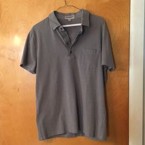Express polo, fitted L EUC
